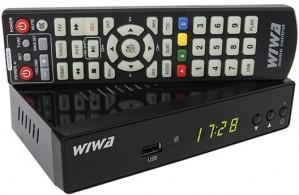 Tuner DVB-T WIWA H.265 MAXX