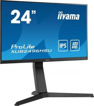 "Monitor LED IIYAMA XUB2496HSU-B1 24"" HAS + Pivot 1ms FreeSync"