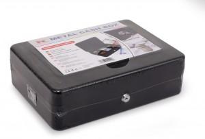 Kasetka metalowa RED EAGLE BOX-300 na pieniądze