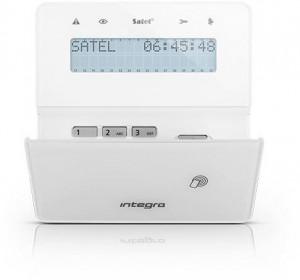 Manipulator SATEL INT-KWRL2-W bezprzewodowy Biały