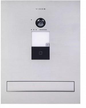 Skrzynka na listy z wbudowanym wideodomofonem VIDOS ONE S2401-SKM