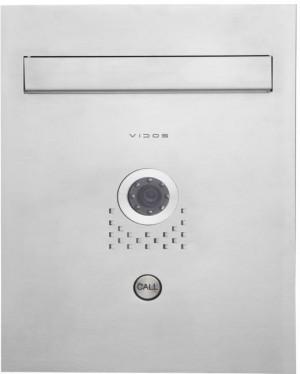 Skrzynka na listy Vidos S551-SKP z wbudowanym wideodomofonem
