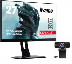 ZESTAW Monitor IIYAMA GB2760QSU-B1 RED EAGLE + GRATIS KAMERA INTERNETOWA