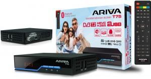Tuner DVB-T2 Ferguson Ariva T75 H.265 HEVC