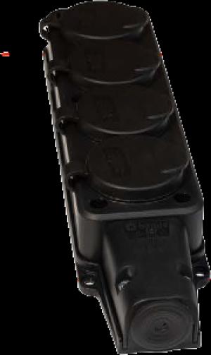 LISTWA GUMOWA 4X250V IP54 VIPLAST 354-05