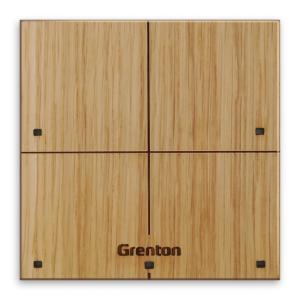 GRENTON - TOUCH PANEL 4B, Tf-bus, CUSTOM WOOD LIGHT (2.0)