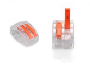 ZŁĄCZKA DO PRZEWODÓW ZATRZASKOWA 0,2-4,0mm2 PC232 2GNIAZDA 50szt.