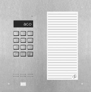 ACO INSPIRO 17ACC+ Centrala Master, do 1020 lokali, LCD, lista lokatorów , ZS , RFID