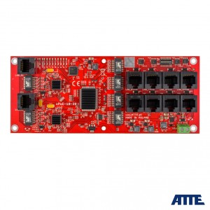 Switch PoE 10 portowy 8P+2G ATTE xPoE-10-20-OF