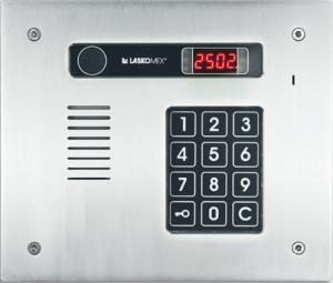 Laskomex CP-2513R INOX Panel audio POZIOMA RFID