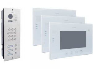 Wideodomofon VIDOS 3 x M670W/S603D