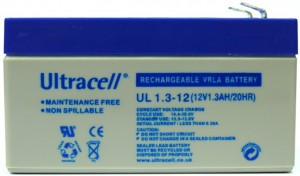 "Akumulator AGM ULTRACELL UL 12V 1.3AH ""żelowy"""