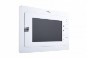 Monitor wideodomofonu VIDOS M323W sterowanie bramą