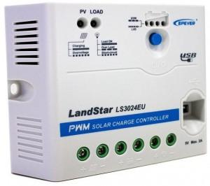 Regulator solarny (ładowania) Epever LS3024EU 30A USB