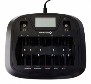 Ładowarka akumulatorków uniwersalna everActive NC-900U