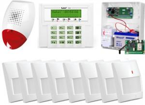 ALARM SATEL VERSA 10 LCD, 8xGRAPHITE PET, SP-500, GPRS-A