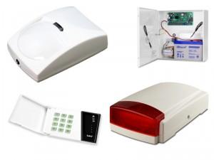 Alarm Satel CA-4 LED, 1xBingo, syg. zew. SPL-5010R