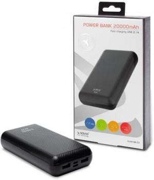 Powerbank SAVIO BA-03 20000 mAh