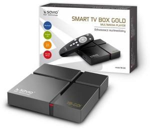 Savio Smart TV Box Gold TB-G01