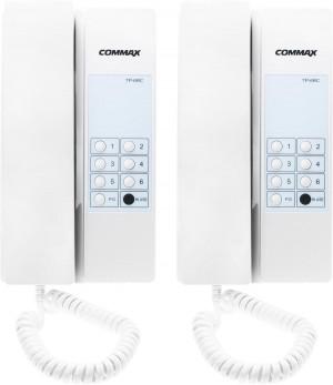 Zestaw interkomowy COMMAX 2xTP-6RC+zasilacz RF-1A