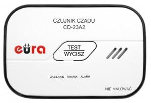 CZUJNIK CZADU WOLNOSTOJĄCY EURA CD-23A2 - BATERYJNY