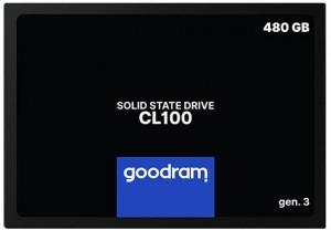 DYSK SSD GOODRAM CL100 G3 480GB SATA3