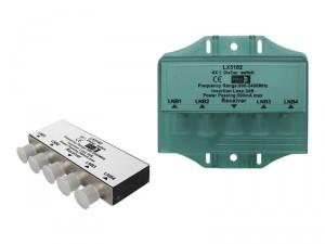 Przełącznik DISEQC SAT DiSEqC 4x1 w obudowie