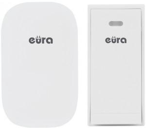 DZWONEK BEZPRZEWODOWY ''EURA'' WDP-81H2 ''SONG''- bezbateryjny, przycisk (kinetyczny), możliwość rozbudowy
