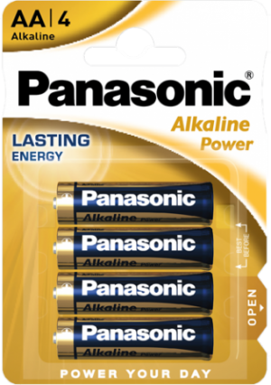 BATERIA PANASONIC LR03/4BP (AAA) ALKALINE