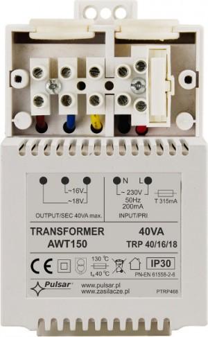 TRANSFORMATOR AWT150 TRP/40/16/18 PULSAR ( zamiennik AWT468 )