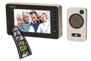 Elektroniczny wizjer OR-WIZ-1106 judasz do drzwi z funkcją nagrywania ORNO