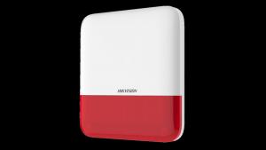 HIKVISION Zewnętrzny sygnalizator alarmowy AX PRO DS-PS1-E-WE/red