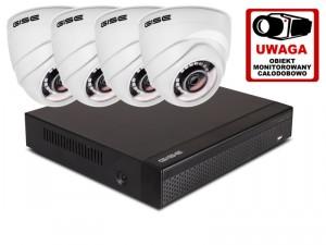 Zestaw 4w1, 4x Kamera FULL HD/IR20, Rejestrator 4ch
