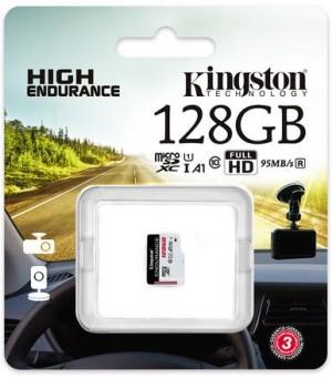 Karta pamięci Kingston High-Endurance microSD 128GB UHS-I U1 24/7
