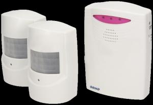 ORNO OR-MA-710 Sygnalizator wejść z dwoma czujnikami ruchu