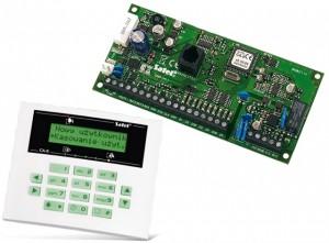 PŁYTA GŁÓWNA SATEL CA-5KPL + LCD-S 7921