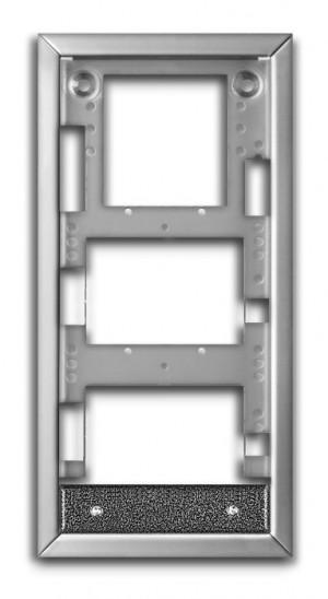 """ACO CDN-R-S-SPEC Ramka podtynkowa mała CDN, """"specjalna"""",do montażu modułów dodatkowych, stal kwasoodporna"""
