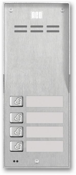 ACO FAM-P-4NPACC NT panel natynk 4-rodzinny czyt. brel.