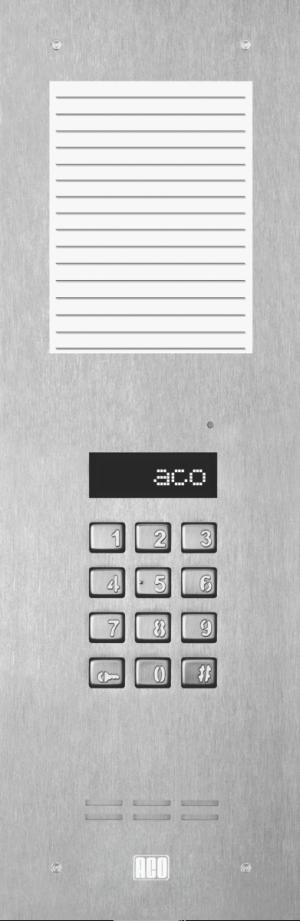 ACO INSPIRO 10S+ Centrala Slave, do 1020 lokali, LCD, pole opisowe średnie