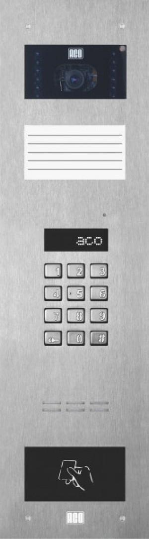ACO INSPIRO 15 Centrala Master, do 255 lokali, kamera kolorowa, moduł opisowy.