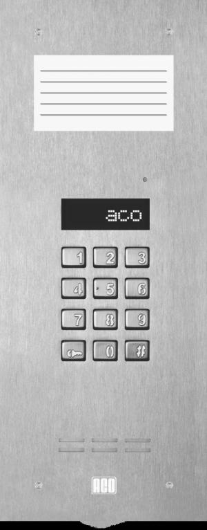 ACO INSPIRO 9+ Centrala Master, do 1020 lokali, LCD, pole opisowe małe