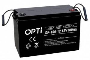 Akumulator AGM OPTI 100Ah