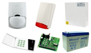 Alarm Satel CA-4 LED 1xLC-100 PI, syg. zew. SPL-5010R