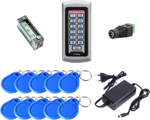 Autonomiczny zestaw kontroli dostępu dla jednego wejścia z czytnikiem VIDOS ZS42