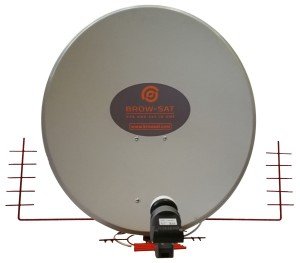 Czasza Antena 3w1 BROW SAT BR1