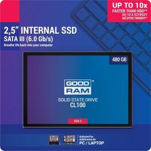 DYSK SSD GOODRAM CL100 G2 480GB SATA3