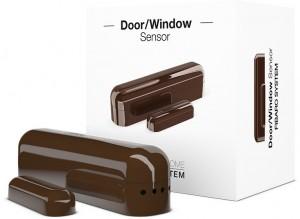 FIBARO Door/Window  Sensor (c. brąz kontaktron drzwiowo-okienny)