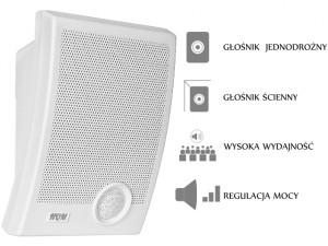 GŁOŚNIK HQM-N10165 10W