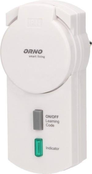 Gniazdo zewnętrzne z funkcją ściemniania OR-SH-1703 sterowane bezprzewodowo ORNO Smart Living