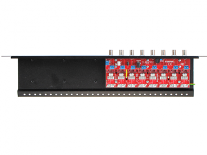 Zabezpieczenie przeciwprzepięciowe na koncentryk i skrętkę z serii PRO z dystrybucją zasilania EWIMAR LHD-8R-PRO-FPS
